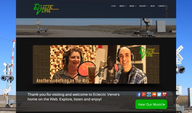Eclectic Verve Website